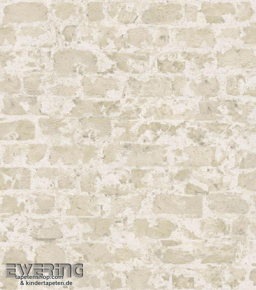 rasch factory 2 7-446210 beige ziegelmauer vliestapete wohnzimmer, Wohnzimmer