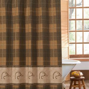 Adirondack Style Shower Curtains