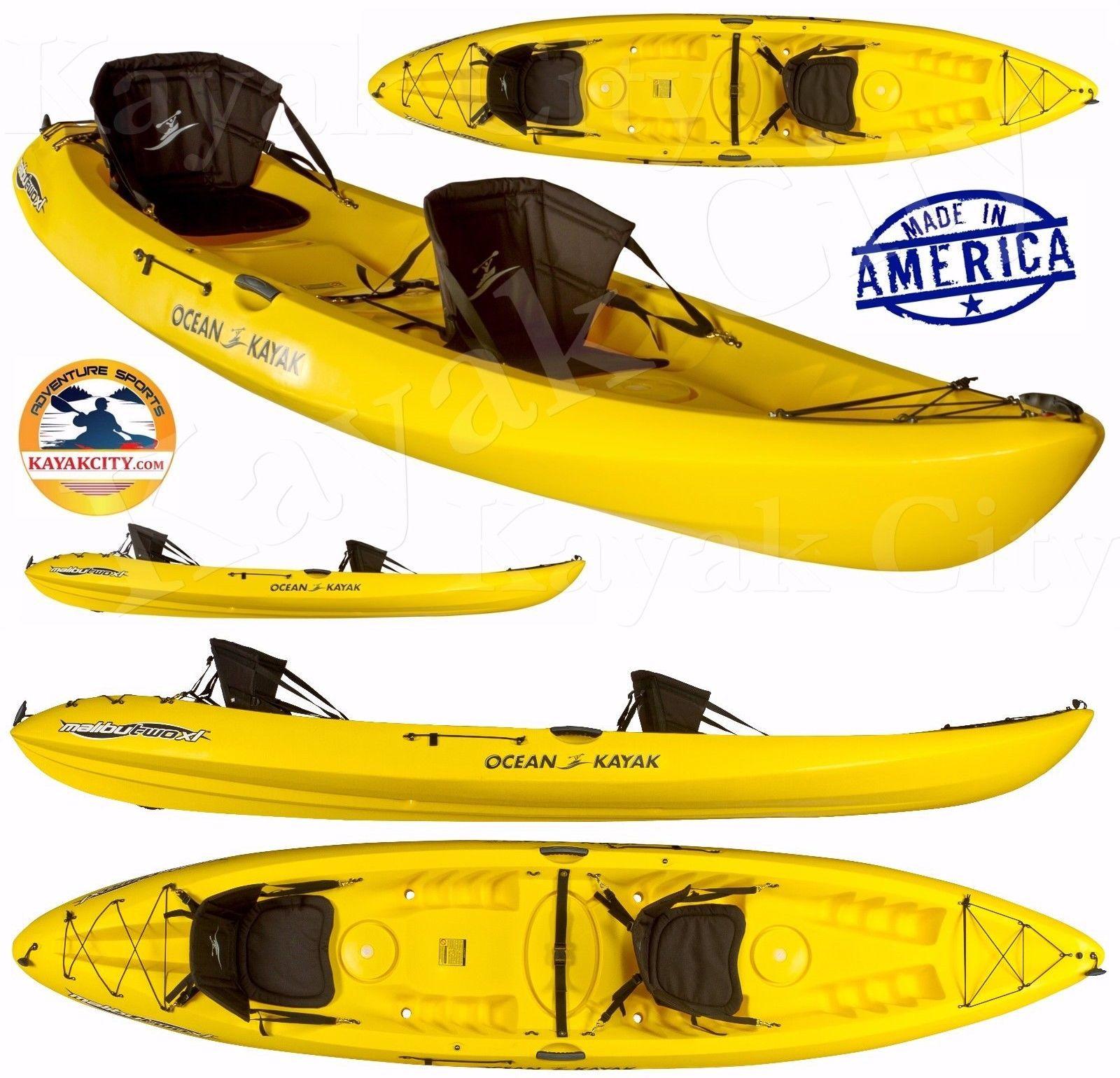 Kayaks 36122: Ocean Kayak Malibu Two Xl - Yellow, 2016 **Factory 2Nd** BUY IT NOW ONLY: $829.0