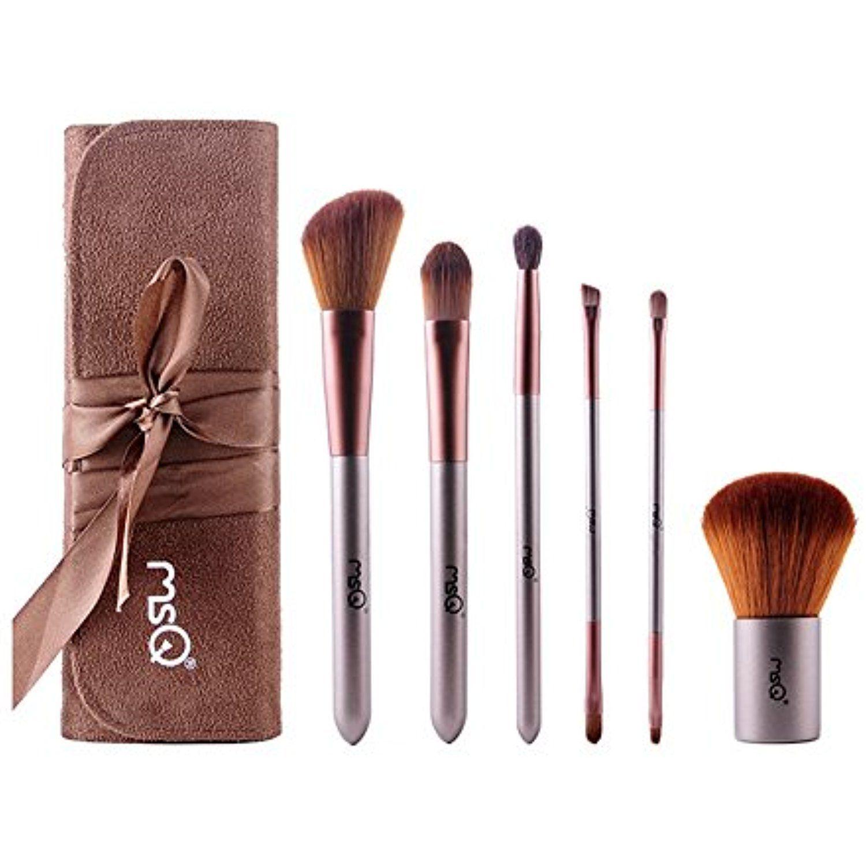 Queenmore Makeup Brush Set Foundation Blending 6 Pieces