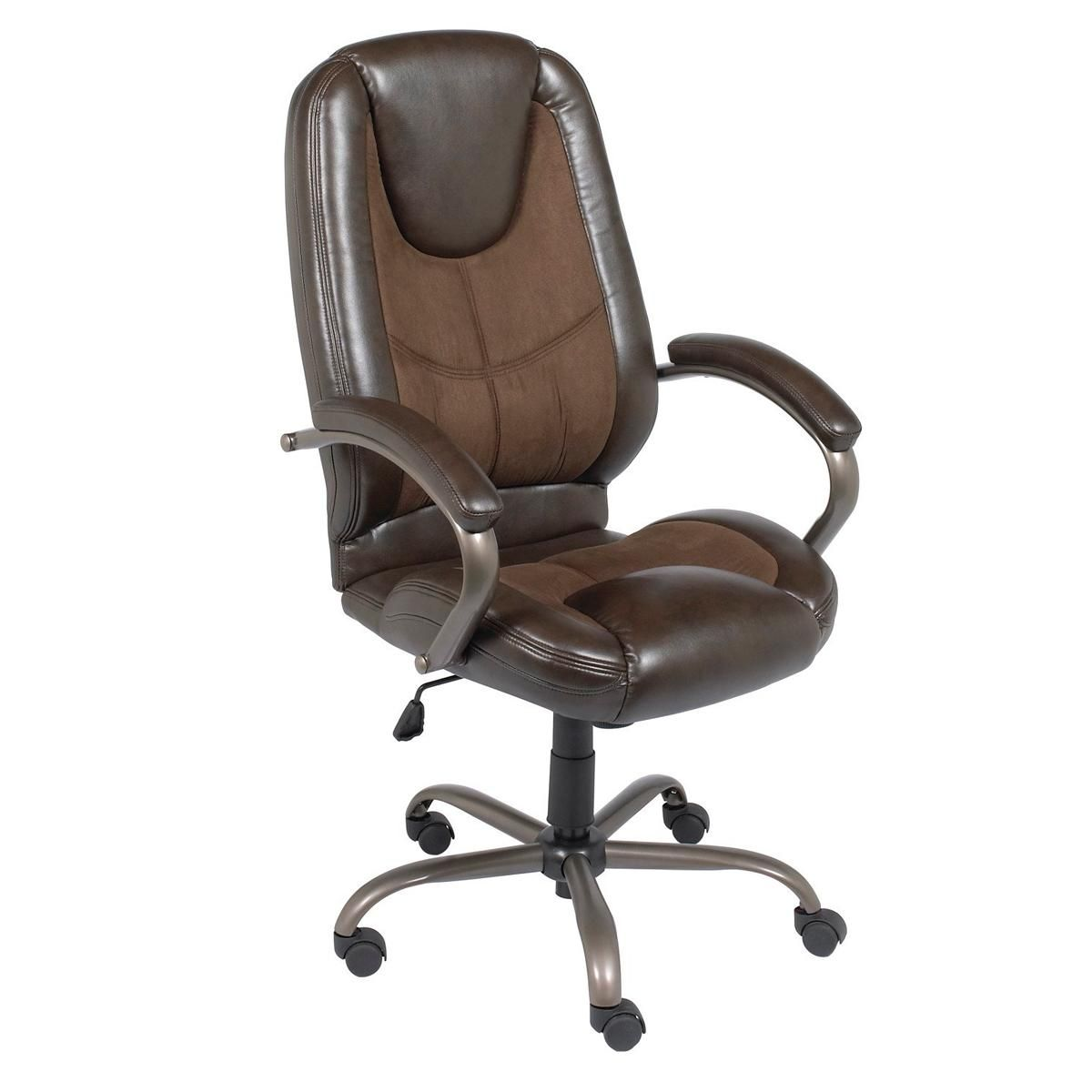 At Home Manager Chair In Espresso And Chocolate Nebraska