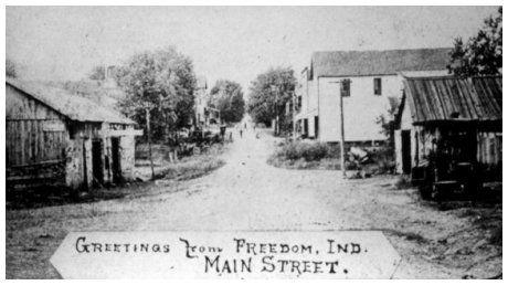 Freedom Indiana Owen County Family History Indiana Family Album Freedom