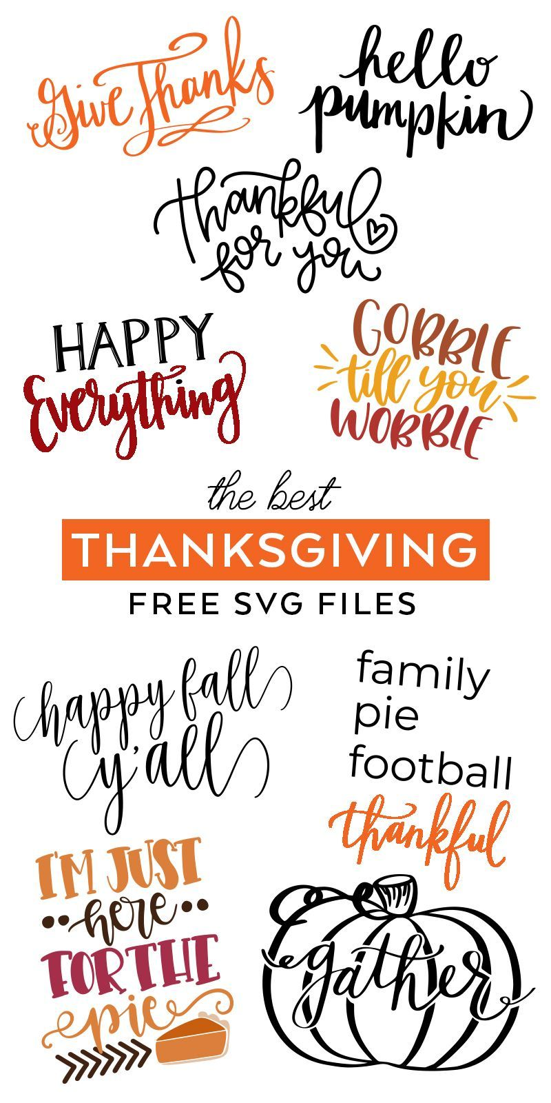 Thanksgiving SVG Files - SVG Cut Files The Best FREE Thanksgiving SVG Files to make DIY Fall and Thanksgiving Decorations- Pineapple Paper Co.The Best FREE Thanksgiving SVG Files to make DIY Fall and Thanksgiving Decorations- Pineapple Paper Co.