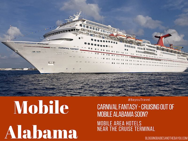 Carnival Fantasy Cruising Out Of Mobile Alabama Soon Mobile Area - Cruises out of alabama