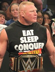 Brock Lesnar - Wikipedia, the free encyclopedia