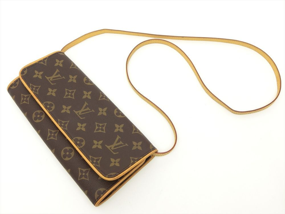 934533a5253a Louis Vuitton Authentic Monogram POCHETTE Twin GM POUCH Shoulder Clutch Bag  LV  LouisVuitton  ShoulderBag