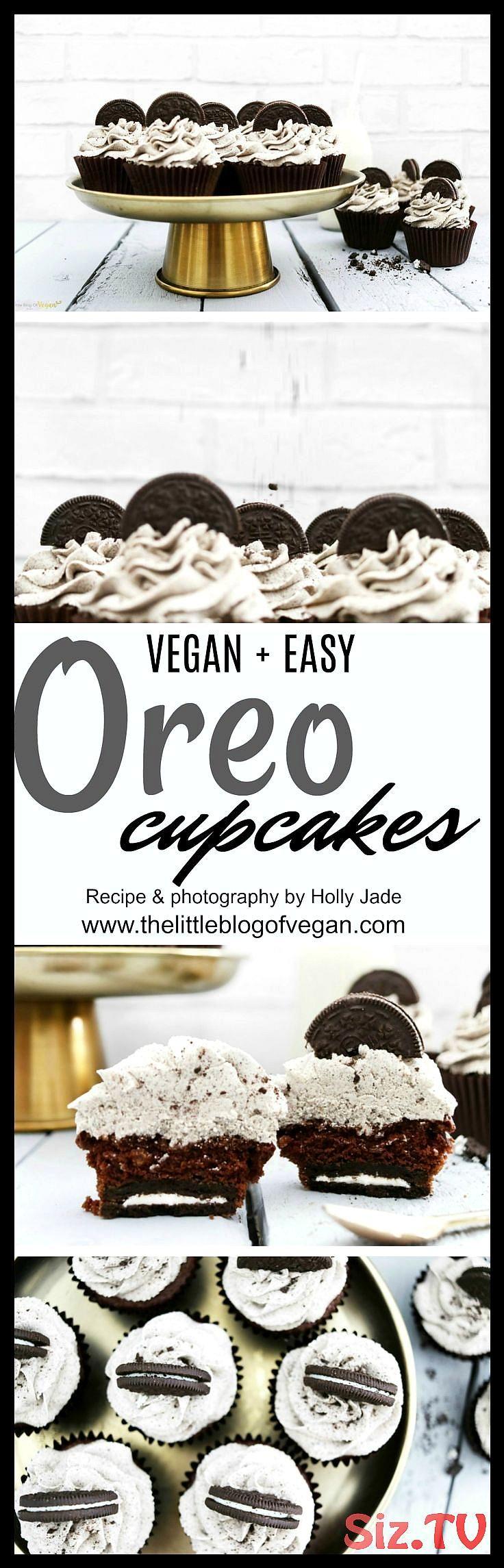 The best vegan Oreo cupcake recipe THE BEST vegan oreo cupcakes with a hidden oreo with thick 038 creamy oreo frosting 30 minutes to make what better The best vegan Oreo...