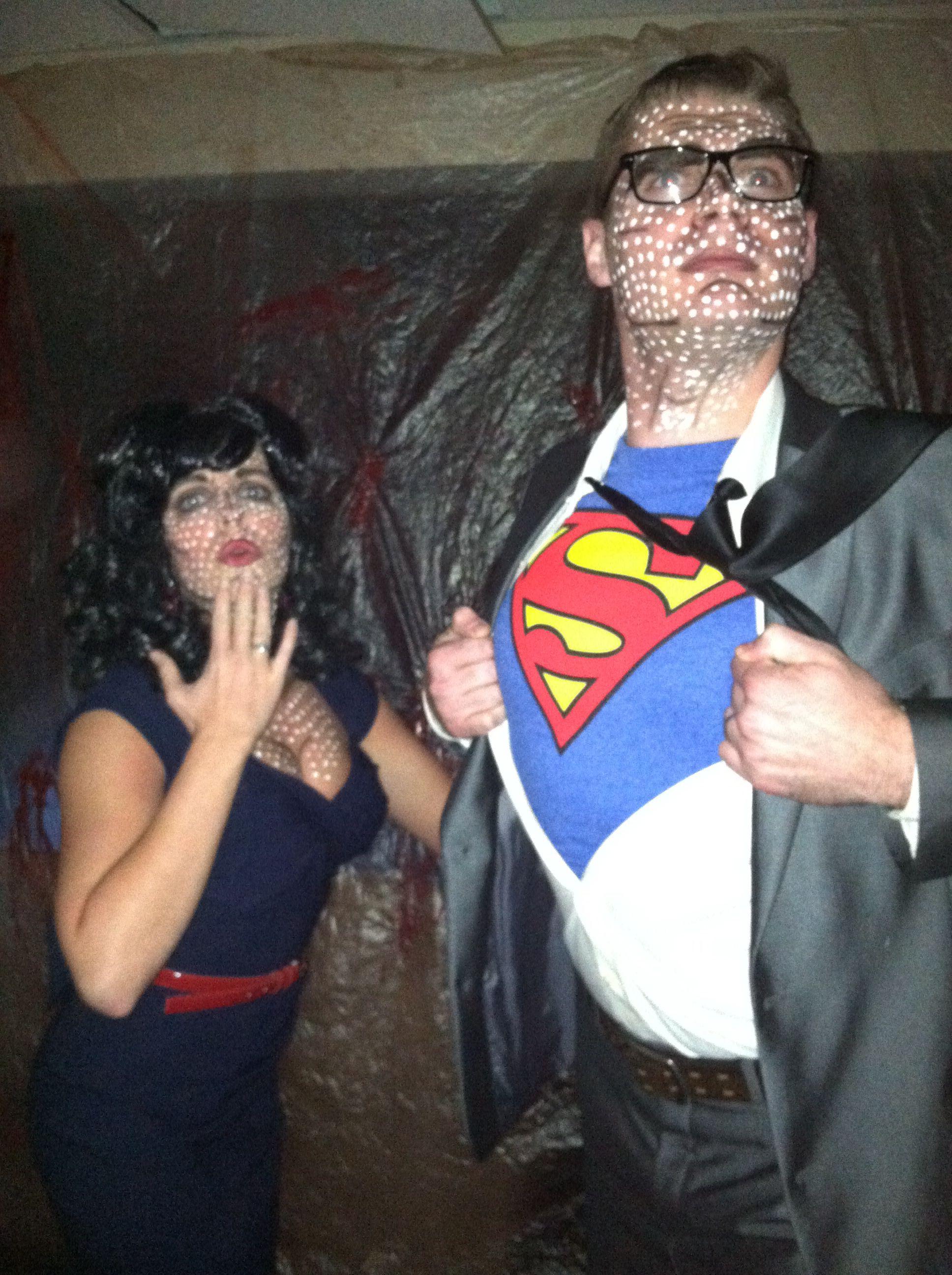 Art pop Lois Lane and Clark Kent Halloween haunt, Clark