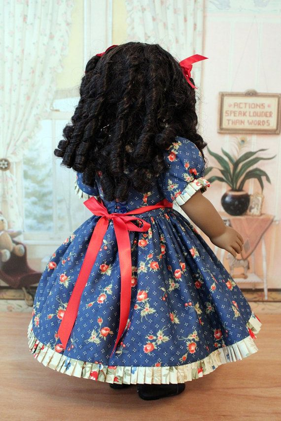 CLEARANCE SALE 1850's Dress for Cecile or Marie by BabiesArtUs