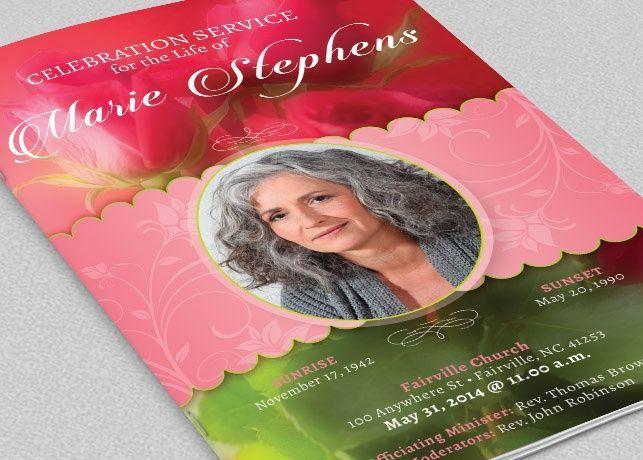 Decorative Funeral Program Template Program Template Funeral And - Funeral flyer template