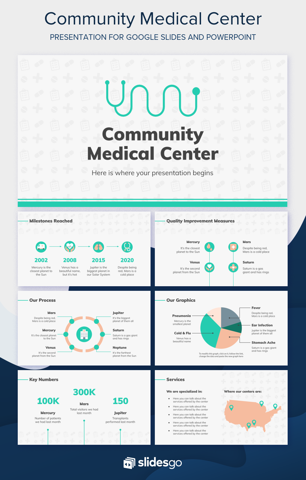 Present Your Community Medical Center With Our Free Google Slides Theme And Ppt File In 2020 Google Slides Themes Medical Center Google Slides