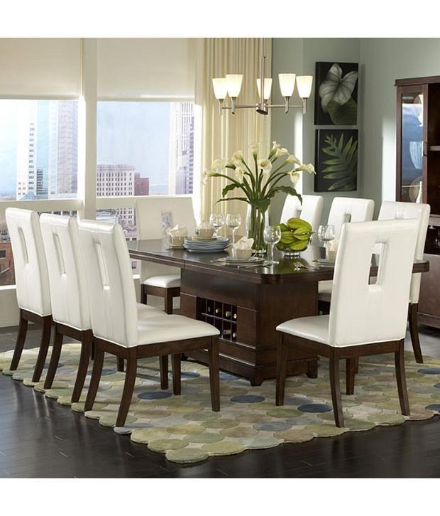 Loved It Dream Furniture Teak Wood 8 Seater Luxury Dining Table