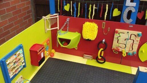 outdoor sensory board | Children | Pinterest | Sensory boards, Child ...