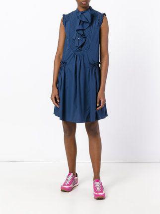 Moncler Kleid Mit Volant | Moncler and Clothes