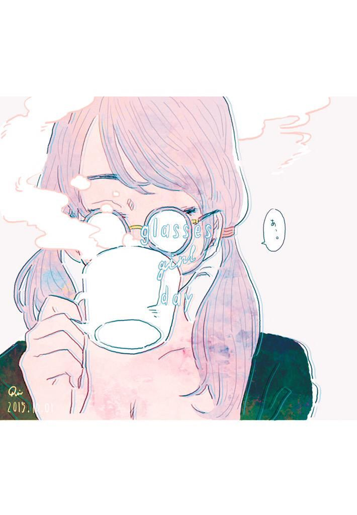 Glasses Girl Day A R T Pinterest Art Drawings And Illustration