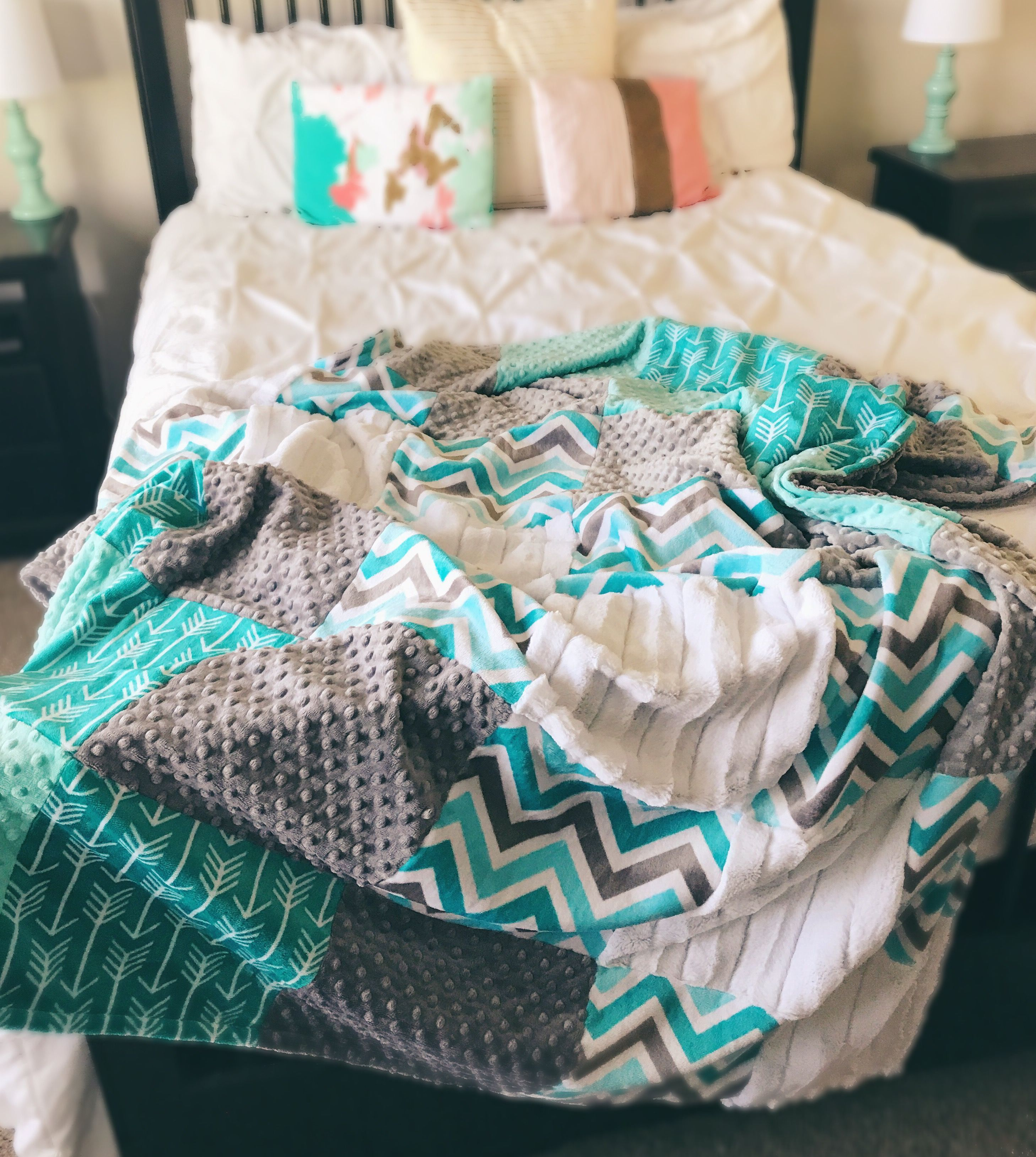 Sew Weighted Blanket Adult Minky Blanket