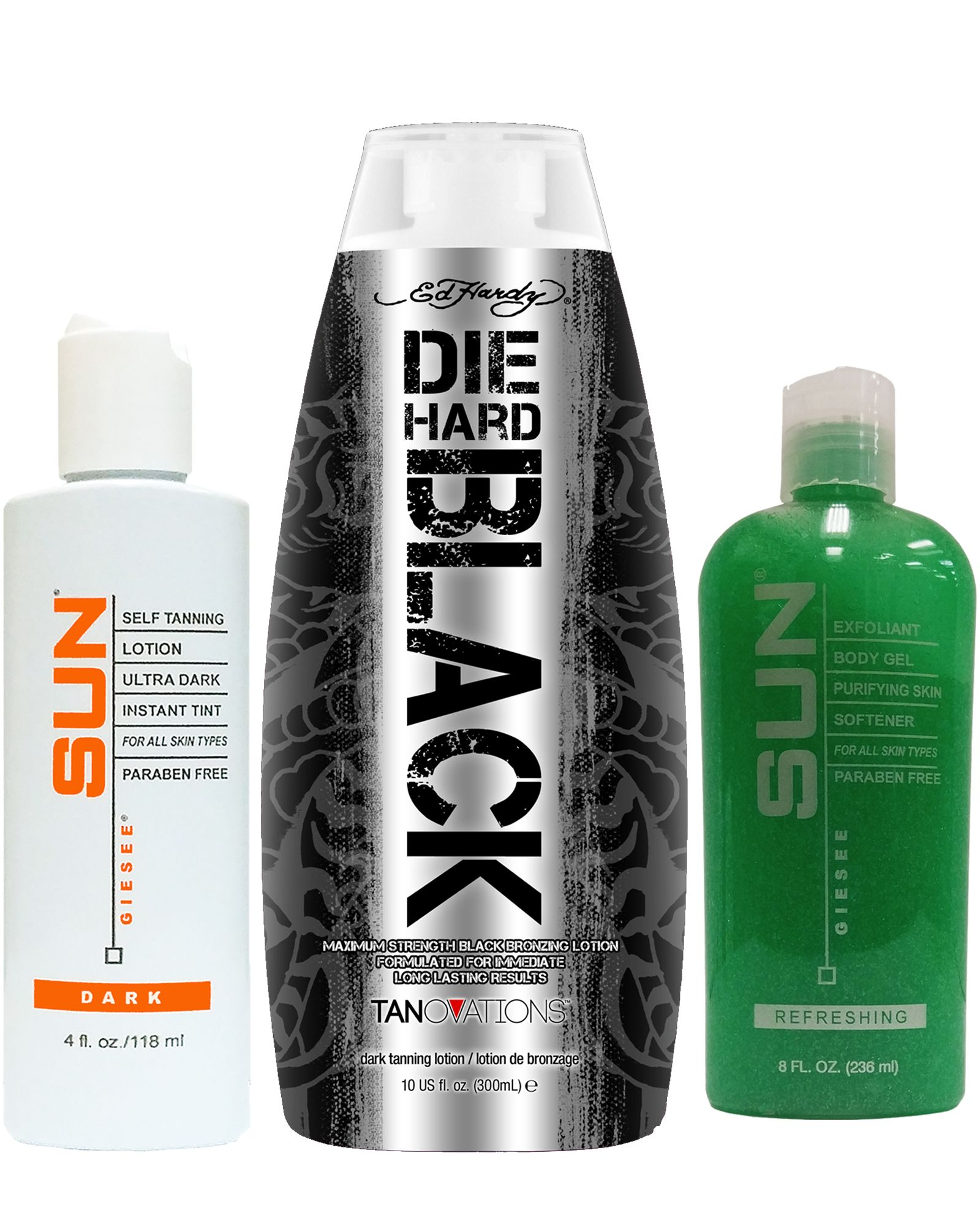 Die Hard Black and Sun Labs Self Tanner Instant Dark