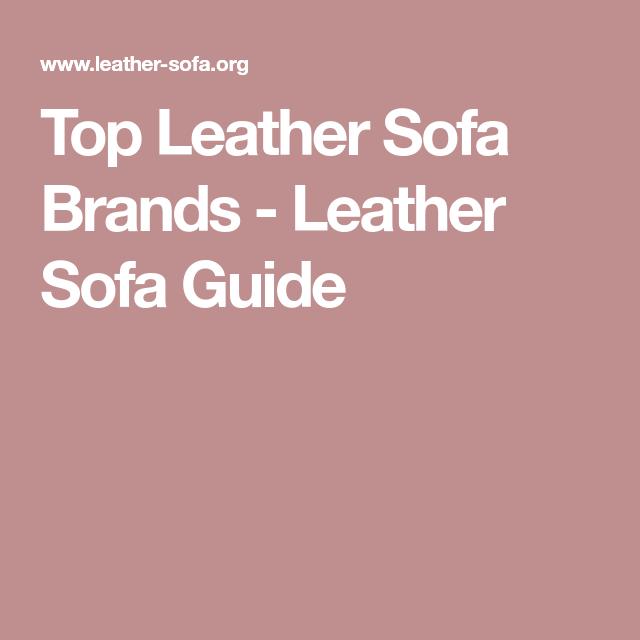Leather Sofa, Sofa, Brand