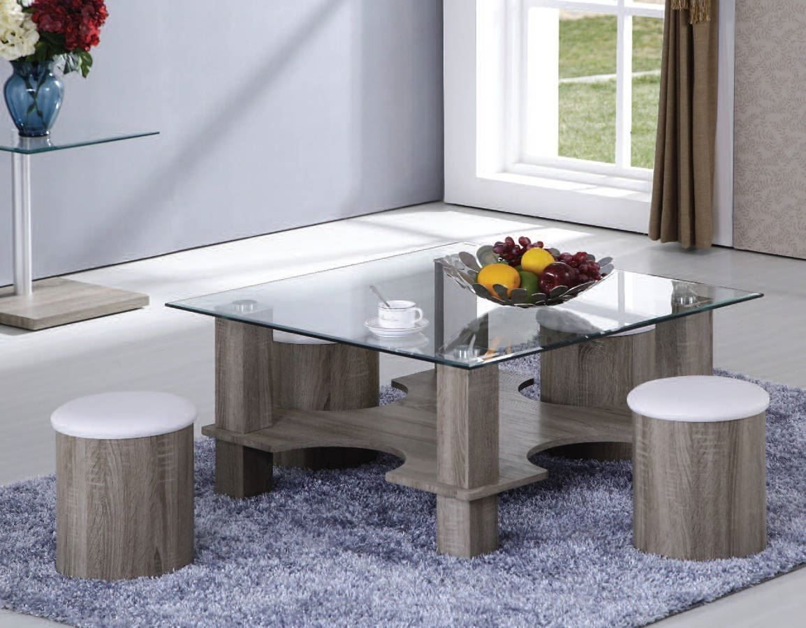 43+ White and wood coffee table set ideas