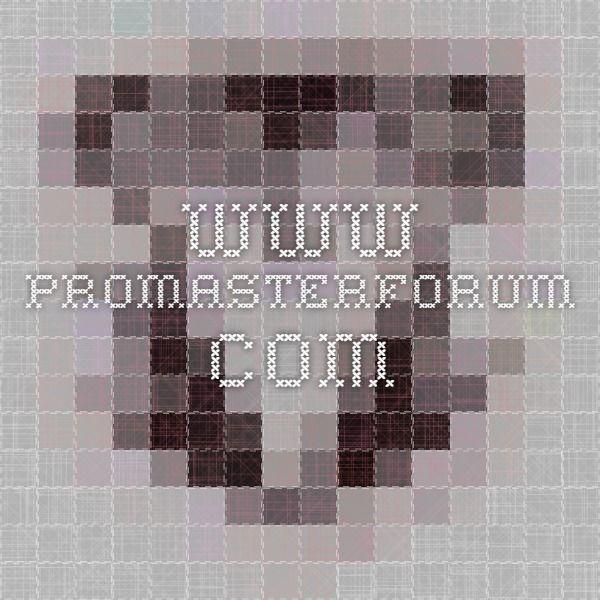 www promasterforum com | SPRINTER JEEP TRUCK TRAILER G-WAGON