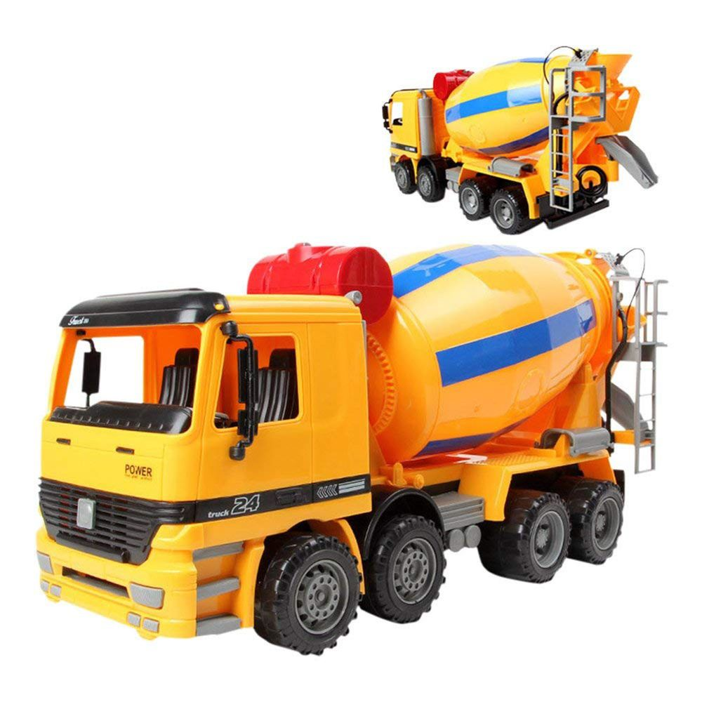 Toys For Boys Kids Cement Mixer Truck Toy For 3 4 5 6 7 8