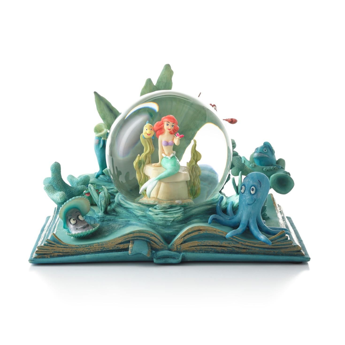 Little Mermaid Deep-Sea Dreamer - Anytime Water Globe ...