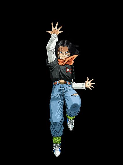 Androide Numero 17 Androide Androide Numero 17 Personajes De Goku