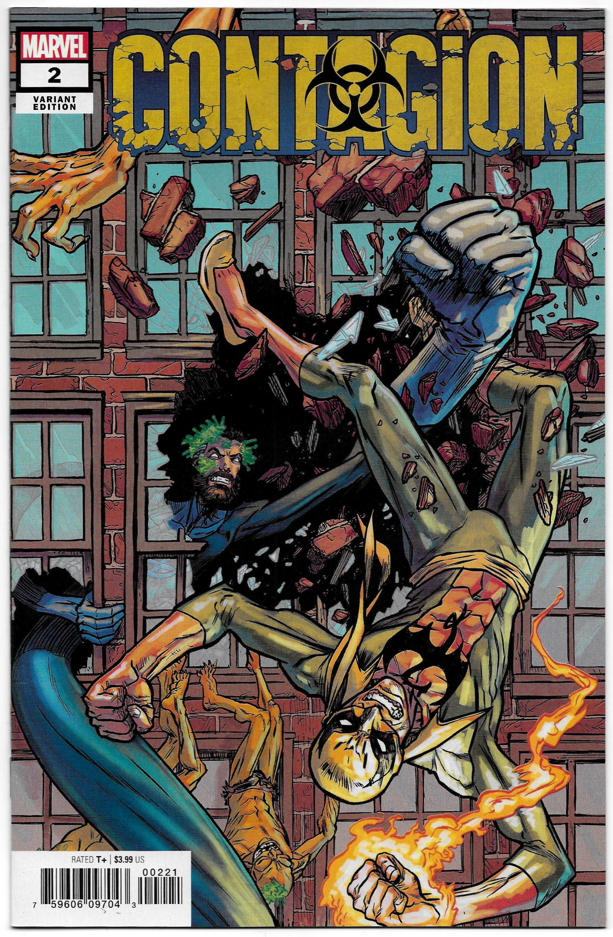 Superhero Marvel Comics Contagion 1 Ryan Browne