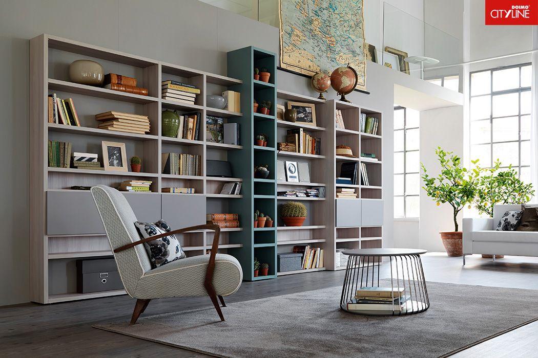 doimocityline libreria per soggiorno citylife casa #urbanchic ... - Soggiorno Urban Chic