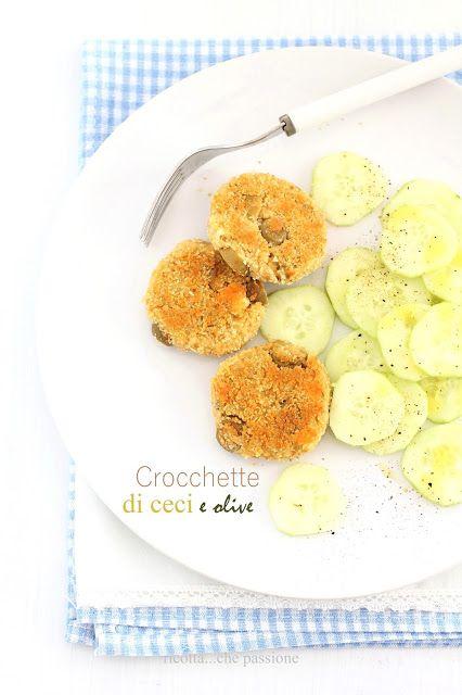 ricotta...che passione: Crocchette di ceci, olive e quartirolo