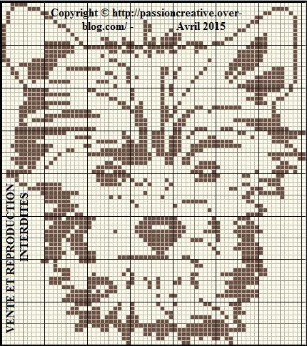 Grille gratuite point de croix yorkshire terrier le blog de isabelle pixel art pinterest - Grille point de croix pinterest ...