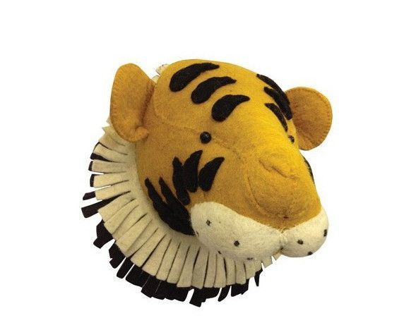 Handcrafted Toy Animal Head Stuffed for Kids Wall Hang | Products ...