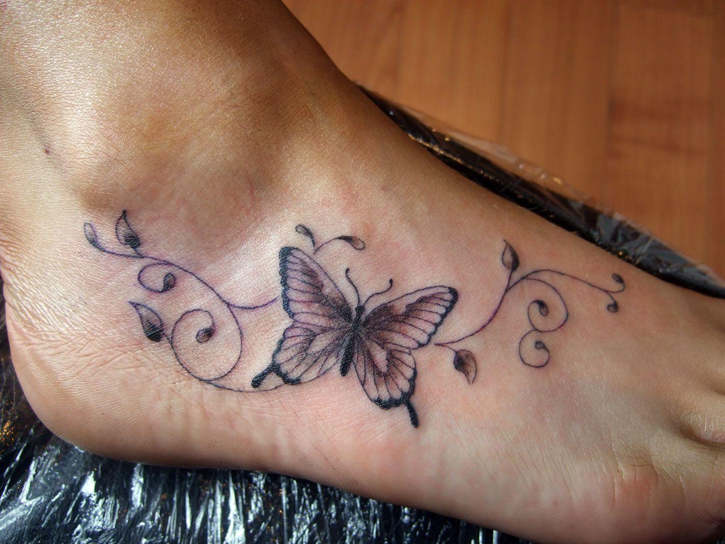 Butterfly Tattoos Designs On Foot Jpg 1424 1068 Butterfly Ankle Tattoos Butterfly Tattoos For Women Foot Tattoos