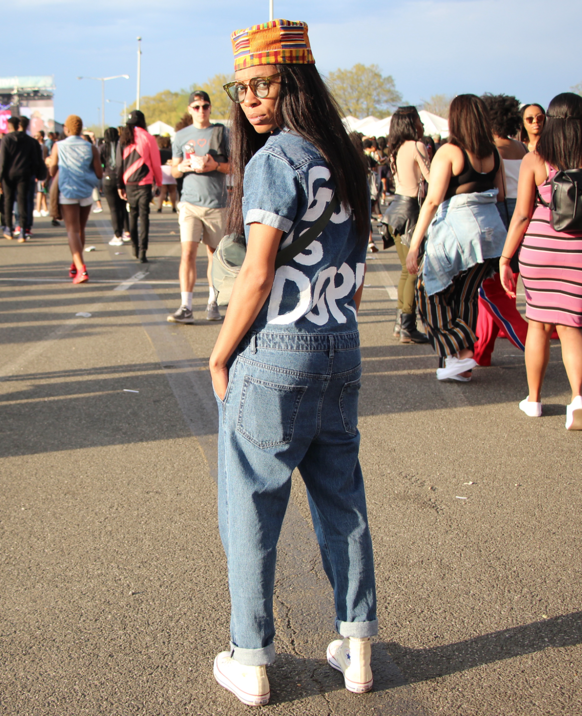 10f61d56e57 Real Street Style  Washington D.C. s Broccoli City Festival 2018 - Fashion  Bomb Daily Style Magazine  Celebrity Fashion