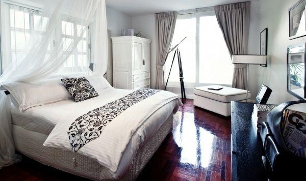 Chambre adulte Blanc Noir Luxueux Bedrooms