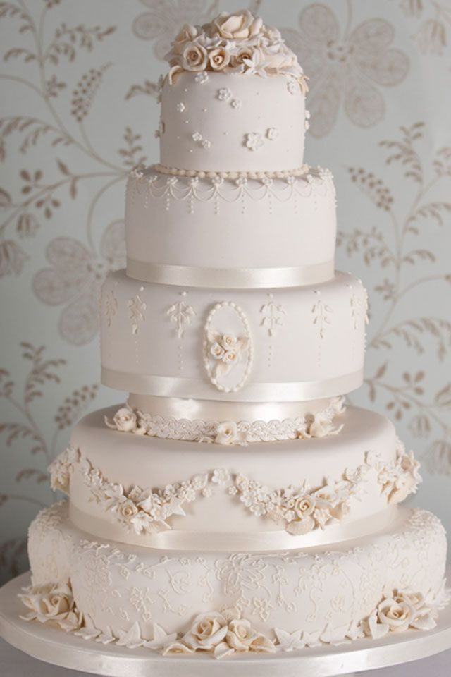 Wedding Cake By Fiona Cairns