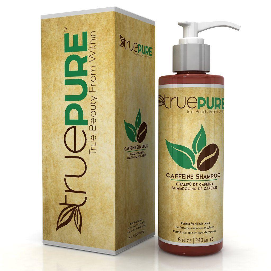 TruePure Caffeine Shampoo Cafe para el cabello