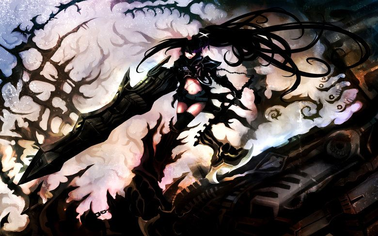 Anime Wallpapers Black rock shooter, Hd anime wallpapers
