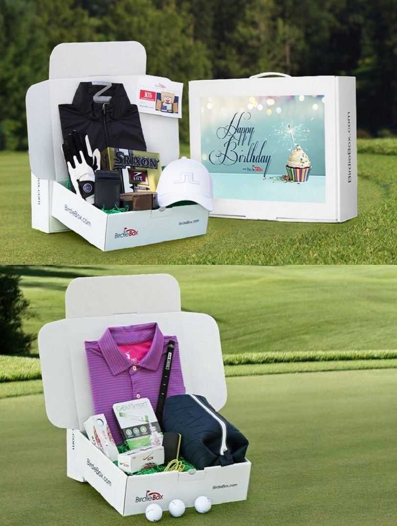 "birdiebox"" - subscription box for golfers 