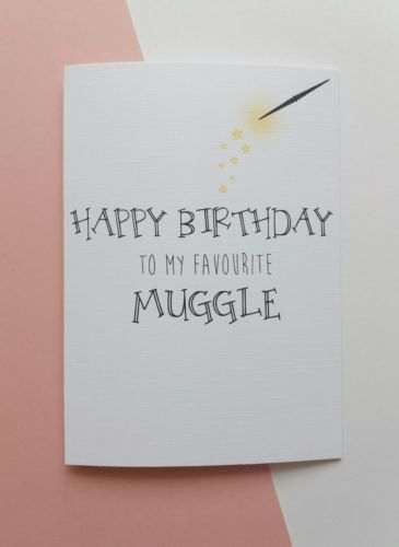 Personalised Birthday Card Boyfriend Girlfriend Harry Potter Best Friend M Birthday Cards For Boyfriend Happy Birthday Girlfriend Happy Birthday Wishes For Her
