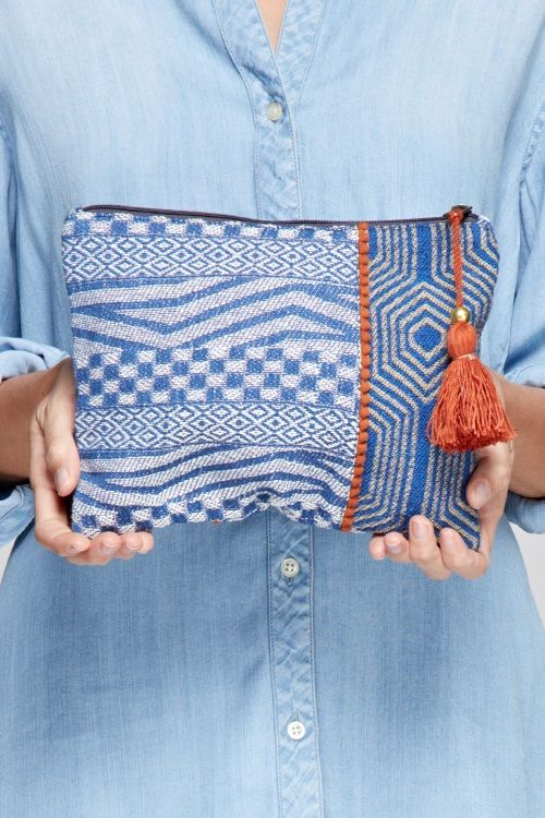 Embroidered Pouch - Longhorn Fashions