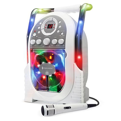 The Singing Machine Singing Machine SML505 Karaoke System - Pink