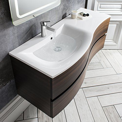 Wall mounted bathroom vanity unit home bauhaus bauhaus - Designer wall hung bathroom vanity units ...