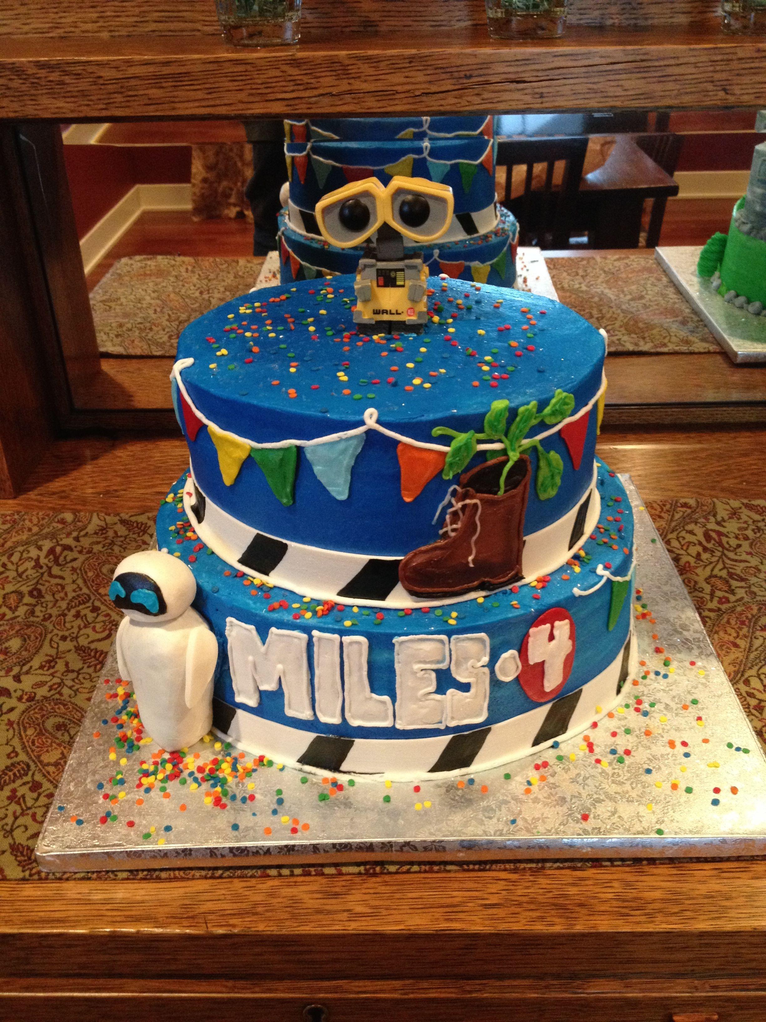Wall E Birthday Cake Robot