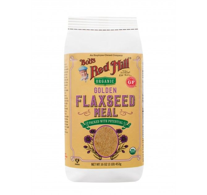 Organic Golden Flaxseed Meal #flaxseedmealrecipes