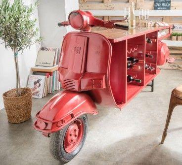 scooter #kommode #roller #tisch #anrichte #diy #automöbel - wohnideen wohnzimmer diy