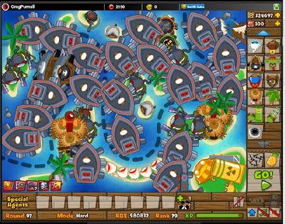 Playing Bloons Tower Defense 5 for fun #games #btd5 #fun ...