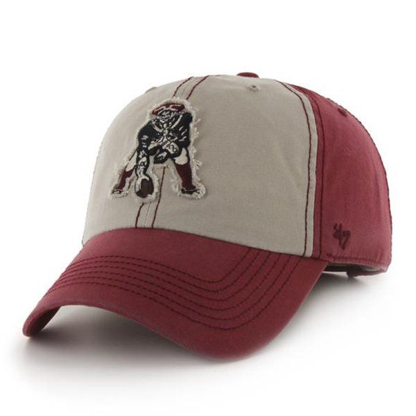 4c67232a5b0 ... New England Patriots. Throwback  47 Brand Undertow Cap-Red