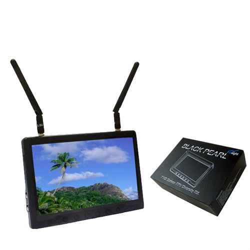 5.8G Diversity RX Flysight Black Pearl Monitor 7 inch#5.8ghzreceiverwithmonitor #7hdfpvmonitor #7hdmivideomonitor #7inchlcdmonitorwithhdmiinput #7inchmonitorforfpv