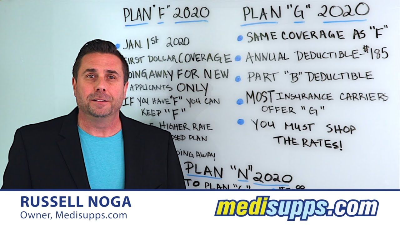 Medicare supplement plans 2020 which is better plan f